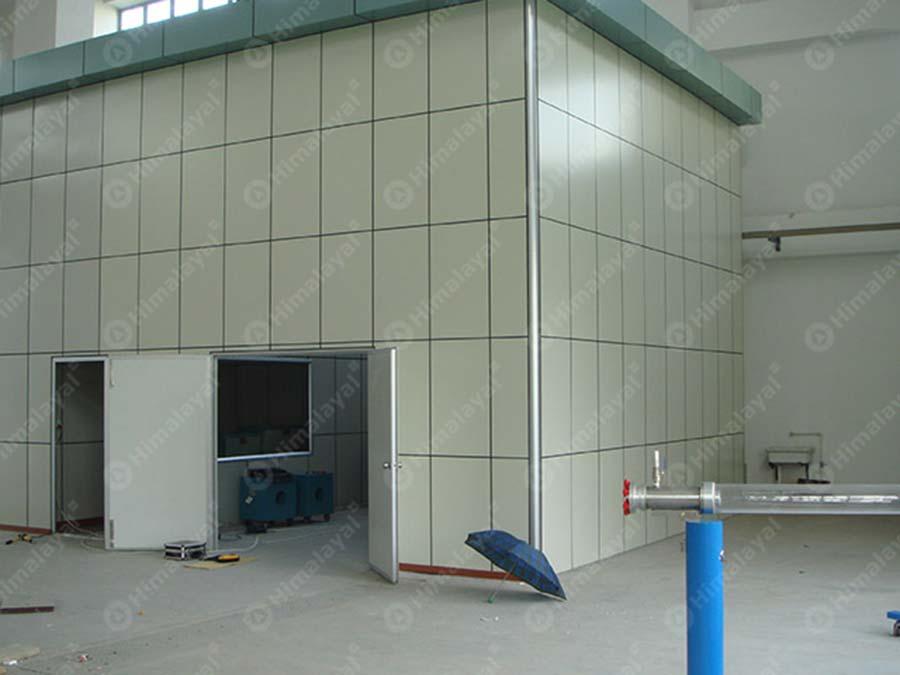 High Voltage Cage : Faraday cage for hv testing himalayal high